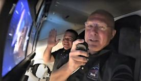 Crew Dragon's astronauts give their SpaceX spaceship a storied name: Endeavour