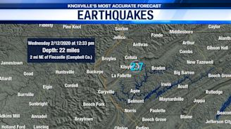 2.7 earthquake measured in Campbell County