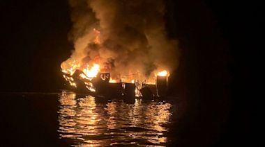 Captain charged with seaman's manslaughter in California boat fire that killed 34