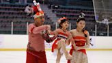 三代同樂!青年盃滑冰首創家庭娛樂組 參賽者出招搶鏡