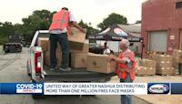 United Way distributing more than 1 million face masks