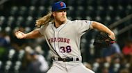 Noah Syndergaard Highlights: Thor has perfect 1-2-3 inning for Syracuse Mets in rehab stint