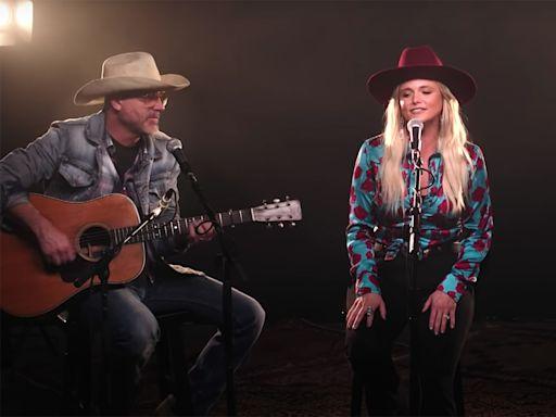 Miranda Lambert Sings 'Two-Step Down to Texas' on 'Fallon'