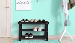 This Shoe Storage Bench Is the 'Most Liked and Complemented Piece of Furniture' Shoppers Own