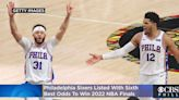 Sixers Listed With Sixth Best Odds To Win 2022 NBA Finals