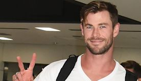 Chris Hemsworth Looks Ripped in Shirtless Photo on Family Vacation
