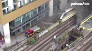 倫敦地鐵爆炸「無關恐襲」直擊烈焰吞噬設施6人傷