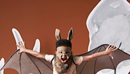 Make This Adorable Halloween Bat Costume for Under $10