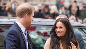 Meghan Markle and Prince Harry Just Made Their First Public Appearance of 2020