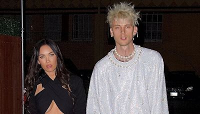 Megan Fox And Machine Gun Kelly Hold Hands on Night Out Ahead of His Birthday