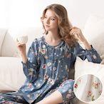 RoseMaid 羅絲美 - 玫瑰系列長袖褲裝睡衣 - 純淨白