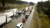 Roads cleared on I-80 near Donner Summit after 2 big rigs jackknifed