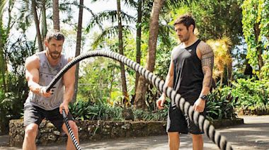 Chris Hemsworth's Trainer Luke Zocchi Shares His Formula for Muscle