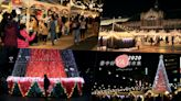 2020台中好YA誕~台中火車站站前廣場,宛如置身異國耶誕市集好浪漫!