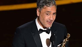 "Oscars: Taika Waititi Dedicates Best Adapted Screenplay Win to Indigenous Kids, ""the Original Storytellers"""