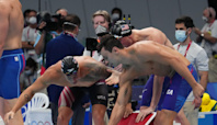 Live updates from Summer Olympics 2021: US wins swimming gold in men's 400 freestyle relay