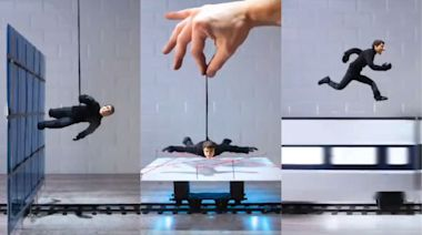 Watch a Tom Cruise doll risk its little doll-life doing stop-motion Mission: Impossible stunts