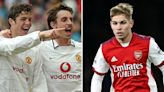 Smith Rowe is more 'ruthless' than Ronaldo was at same age, claims Gary Neville