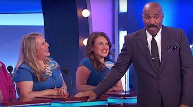 'Family Feud' contestant's sassy response leaves Steve Harvey speechless