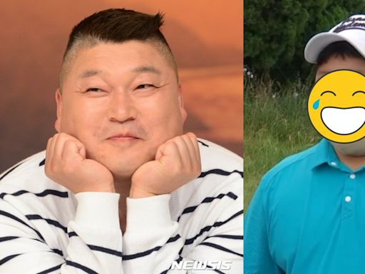 姜鎬童12歲兒子「時厚」首曝光 口罩蓋不住大臉似足爸爸