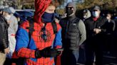 The Latest: New Mexico governor: Stay home on Halloween