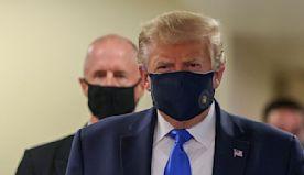 Trump shifts rhetoric as he urges mask-wearing, warns of worsening pandemic