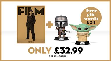 Get two Mandalorian Funko Pop! figures with a year's Total Film subscription this Black Friday