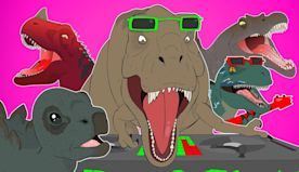 ♪ JURASSIC WORLD HUNGRY DINOSAURS THE MUSICAL - Animated Song