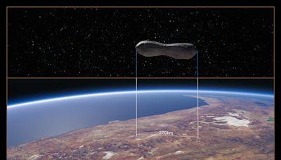 奇特小行星長得像狗骨頭 長270公里