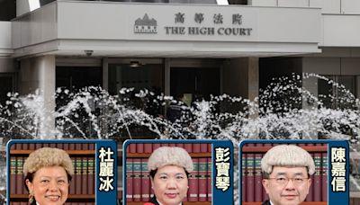 涉貼海報恐嚇唐英傑案法官 物業管理經理續還押