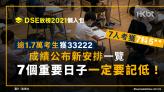 DSE放榜2021|7人獲7科5** |成績公布新安排|7個重要日子要記低
