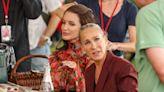 Sarah Jessica Parker and Kristen Davis look tense filming SATC spin off