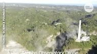 The Arecibo Observatory telescope in Puerto Rico has officially collapsed