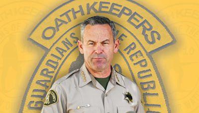 Will Fox News-Loving Sheriff's Oath Keeper Ties Cost Him His Job?