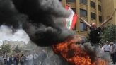 As Lebanon leaders talk austerity, protesters cry 'thieves!'