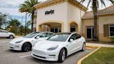 Hertz Orders 100,000 Teslas for EV Rental Fleet