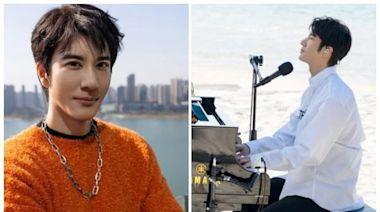王力宏赴美打疫苗 原來和「全球最神祕峰會」有關