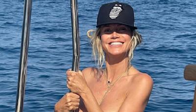 Heidi Klum, 48, Rocks An Ab-Enhancing Body Chain In A New Topless Pic