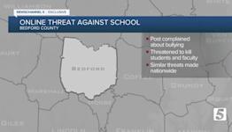 Bedford County authorities investigating school threats