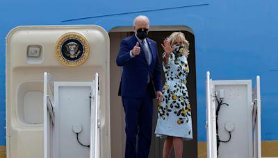 Fact check: Viral TikTok shows Biden consoling his grandson at Beau Biden's funeral