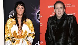 Kesha Meets 'Idol' Nicolas Cage & It Goes Way Better Than That Time She Met Jerry Seinfeld — Watch