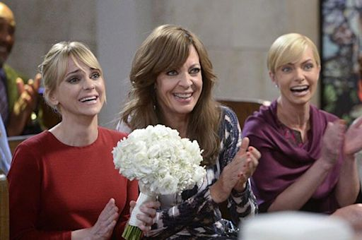 Allison Janney Back on Set to Film Mom Season 8 After Anna Faris Exit: 'We're Excited'