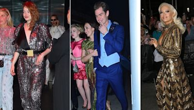 Andrew Garfield and Exes Emma Stone and Rita Ora All Attend the Same Met Gala Afterparty