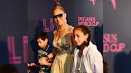 Los hijos de Jennifer Lopez y Marc Anthony ya son adolescentes y así lo celebra la cantante