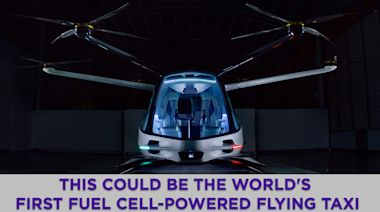 This could be the world's first fuel cell-powered taxi