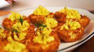 Hey Y'all - Deep-Fried Deviled Eggs