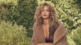 J.Lo Stuns in Faux Fur Stiletto Boots, a Low-Cut Top and a Cozy Teddy Coat