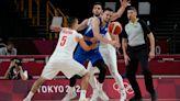 Czech Republic tops Iran 84-78 in Olympic basketball opener