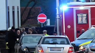 More than 50 people were injured when the driver of a silver Mercedes mowed down a carnival crowd in Germany