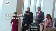 UK royals Harry and Meghan visit NYC landmark
